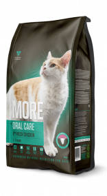 MORE Cat +Oral Care Adult Chicken